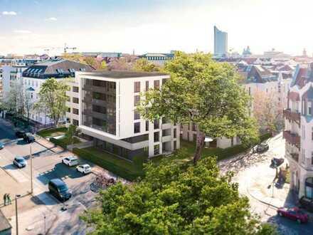 5-Zimmer-Wohnung mit 2 Balkonen