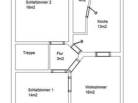 DG Wohnung ca.62m2 MG - Eickenerstr. Fußgängerzone