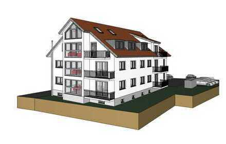 Wir planen für Sie 8 WEH, zum Beispiel barrierefreie 3 Zimmer Wohnung 96,49 m² für 395.500,-- €