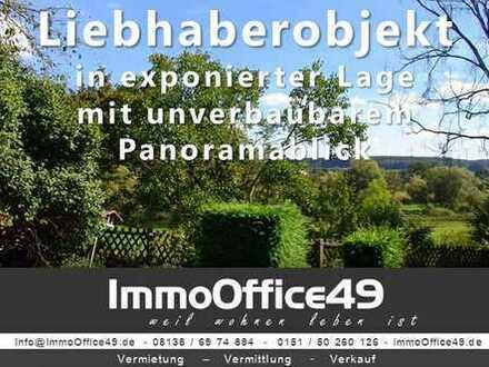 ImmoOffice49 - Liebhaberobjekt mit Fernblick in exponierter Lage