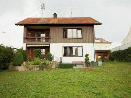 Top-Lage: Einfamilienhaus mit großem Garten in Kissing