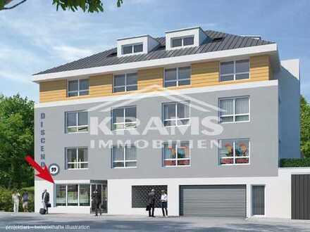 NEUBAU in bester Verkehrslage - Kompaktes Ladenbüro im neuen Gerster-Areal!