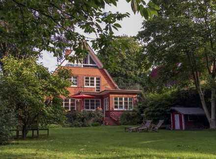 Rotklinkerhaus in Wellingsbüttel