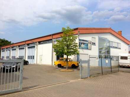 Halle mit Büro insgesamt 700qm -hochwertige Ausstattung- PROVISIONSFREI