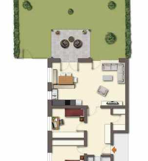 3-Zimmer-Erdgeschosswohnung mit Terrasse und Garten in 94327 Bogen/Furth