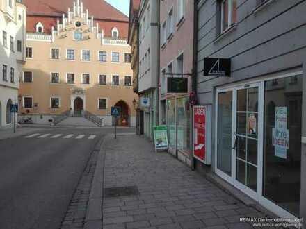 Ladenlokal in der Reichsstraße Donauwörth mieten!