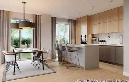 WALSER: Gartentraum in Neufahrn: Phantastische 3-Zimmer-Wohnung im Grünen