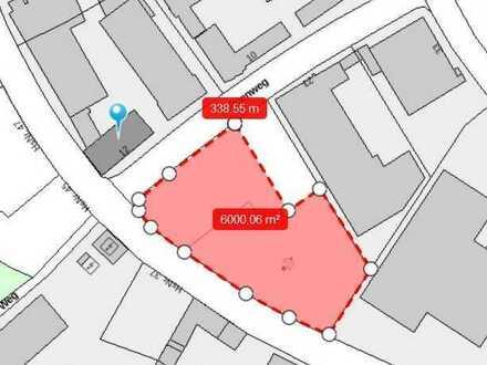 Große Freifläche für Parkplätze/Lagerfläche