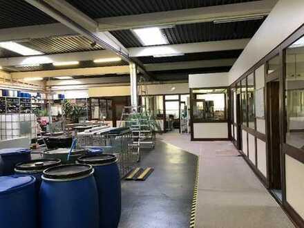 Hangelar - direkt bei Bonn. Attraktive Produktionshalle mit 10 Büroräumen