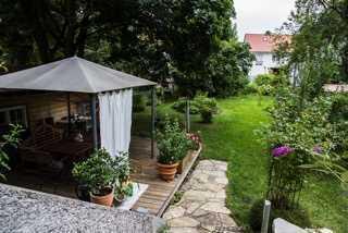 """FFB-Innenstadtlage/Bezauberndes """"Stadthaus"""" mit herrlichem Garten in Bestlage"""