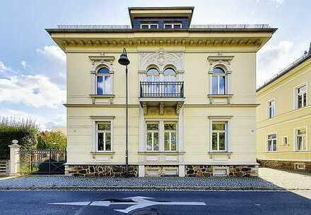attraktive denkmalgeschützte Villa in Grimma