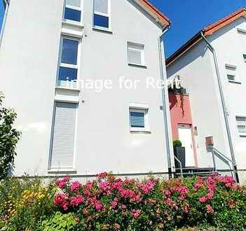 Duplex house with 4 rooms and a fitted kitchen in Sindelfingen
