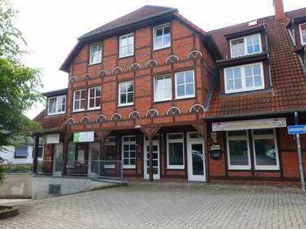 -Anlageobjekt- Geschäfts-, Ladenzeile mit 4 Einheiten und Fachwerkambiente im Zentrum der Wedemark