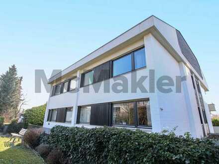 Hauscharakter: 5-Zi.-Maisonette mit Loggia, Dachterrasse und Garten in begehrter Lage von Weinheim