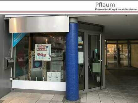 Ladenfläche im Einkaufszentrum von Siegen-Weidenau