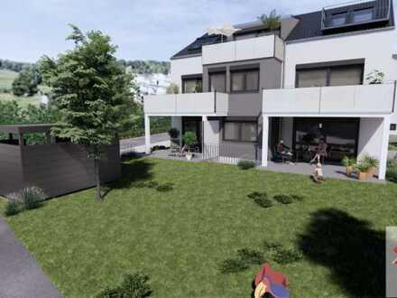 Maisonette-Wohnung mit schönem Garten und der Wiese als Nachbar