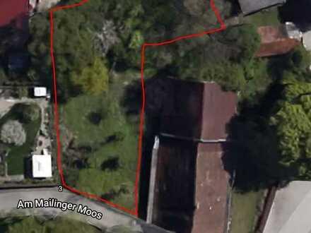 Schönes Grundstück mit Baugenehmigung für DDH mit 241m² Wohnfläche