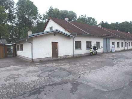 Dachau - Gewerbehof - Halle mit Nebenräumen für Lager oder Produktion