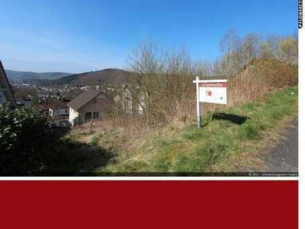 Grundstück mit traumhaften Ausblick über Eiserfeld - Siegen