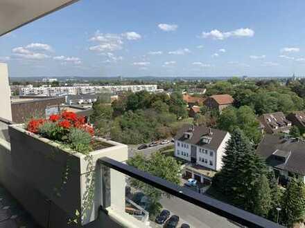 traumhafter RHEIN- und FERNBLICK !!!helle 3-Zimmer Wohnung mit 2 Sonnenbalkonen und TG-Stellplatz