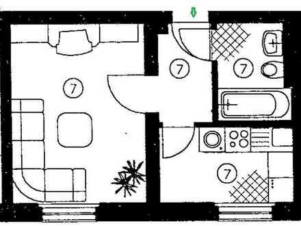 **meine erste eigene Wohnung - süße 1-Raum Wohnung in Marienthal **