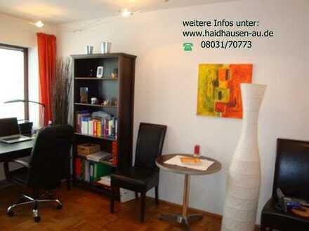 Stilvolles, modernes Appartement mit West-Balkon, EBK und möbliert in Au, München