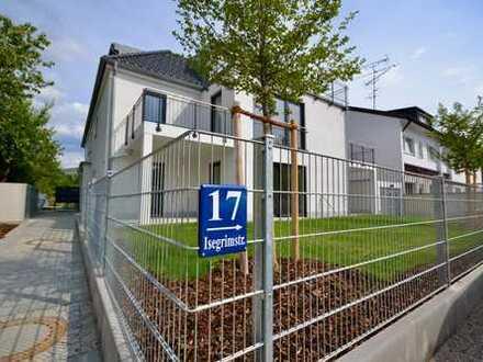 Erstbezug - Exklusive Erdgeschosswohnung mit 210 qm XXL Garten