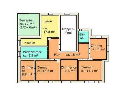 Bezugsfrei ab August! Komplett NEU! 4,5 Zimmer Wohnung mit großer Terrasse in grüner Lage am Rand...