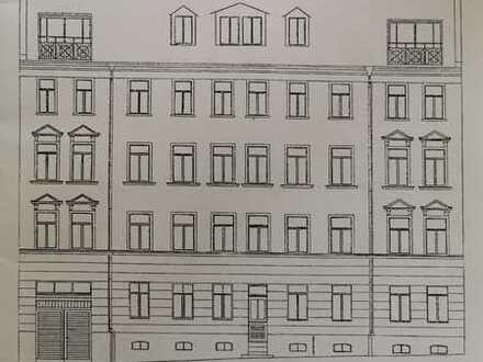 Gepflegte 1-Zimmer-Altbau-Wohnung mit Terasse in Leipzig-Möckern
