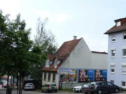 PF-Brötzingen: Zentral gelegener Baugrund mit großzügiger GFZ, ideal für MFH oder gemischte Nutzung
