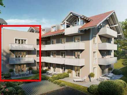 Wir bauen für Sie: Eine Wohnung mit Hauscharakter!