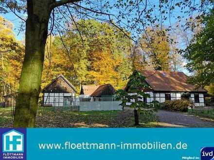 Urlaub zu Hause! Tolles Anwesen, ruhig im Wald gelegen, mit vielen Möglichkeiten!