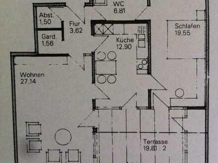 Vollständig renovierte 2,5-Raum-Wohnung mit Balkon in Ravensburg