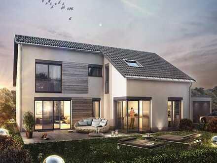 Modernes Einfamilienhaus mit hohem Wohnkomfort, Terrasse und Garten