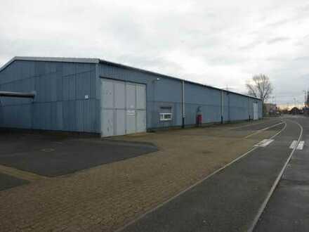 Lagerhallen ab 800 m² mit sehr guter Verkehrsanbindung
