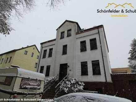 Renovierungsbedürftige, gut aufgeteilte 3,5 Raum-Wohnung mit großem Gartengrundstück und Garage