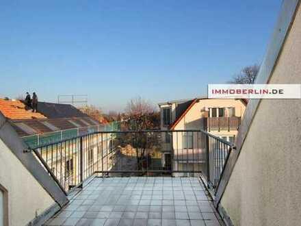 IMMOBERLIN: Charmante Wohnung mit Sonnenterrasse im Ortskern