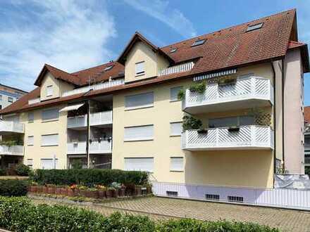 Neuwertige, traumhafte 3-Zimmer-Maisonettewohnung in TOP Lage von Oftersheim