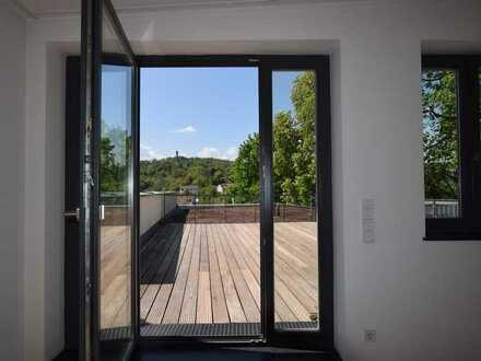 Traumhafte 4-Zimmer-ETW mit Dachterrasse und Blick auf die Altenburg