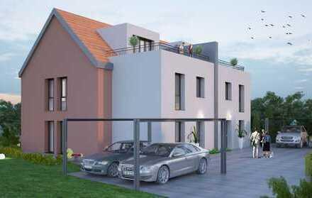 Mit Baugenehmigung!! 2 Tolle Grundstücke in Hanau Mittelbuchen für 2 Doppelhaushälften Provisionsfre