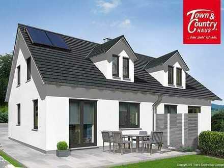 Römerberg - Kleines neues Doppelhaus mit fantastischer Lage