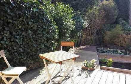 Schöne helle 2-Zimmerwohnung mit Garten auf der Frankenhöhe zu vermieten
