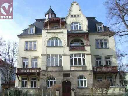 Ruhiglage: wunderschöne 4-Zimmer-Wohnung in Striesen mit Balkon und Wohnküche