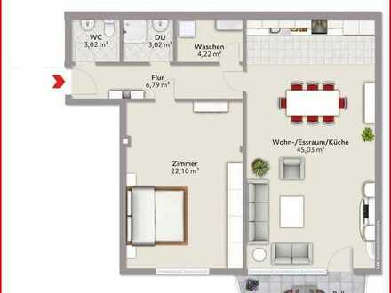 LBS Alzey Große 2ZKB-Wohnung-Stadtmitte von Alzey