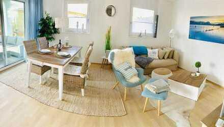 Geräumige und stilvolle 2-Zimmer-EG-Wohnung komplett möbliert und ausgestattet