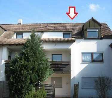 Schöne 2 Zi/K/B-Wohnung in Augsburg, Haunstetten
