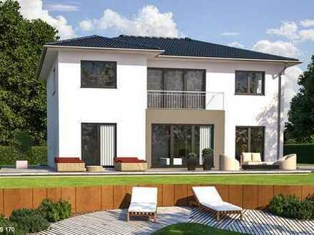 Wunderschöne großzügige Villa schlüsselfertig auf Bodenplatte - freie Planung möglich
