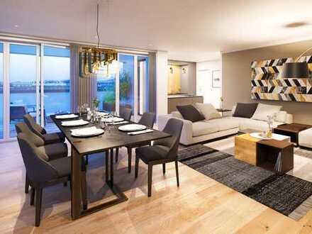 Perfektes 4-Zimmer-Penthaus mit Süd-/West-Dachterrasse, Tageslichtbad + Aufzug direkt in die Wohnung