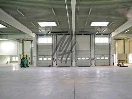 RAMPE ✓ NÄHE BAB ✓ Lager-/Produktionsflächen (900 m²) & kleine Büroflächen zu vermieten
