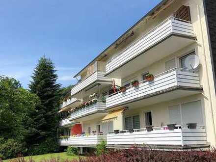 Helle 3 Zimmer Wohnung mit Sonnenbalkon und Garage als Kapitalanlage oder zur Eigennutzung